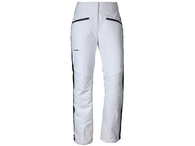 Schöffel Planai Pantalon Softshell Femme, blanc